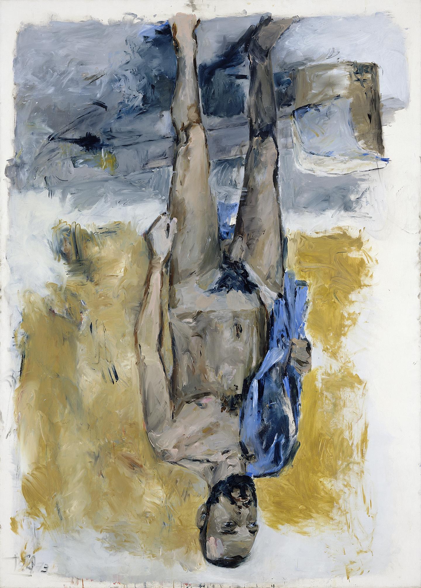 Georg Baselitz, Fingermalerei - Akt (Pintur a dedo – Desnudo), 1973