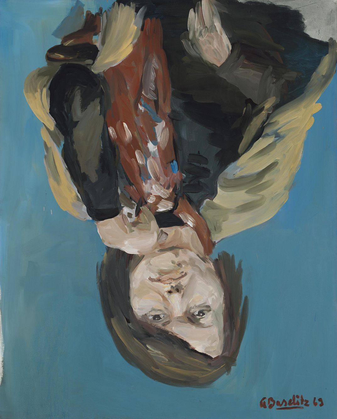 Georg Baselitz. Portrait of Elke I, 1969