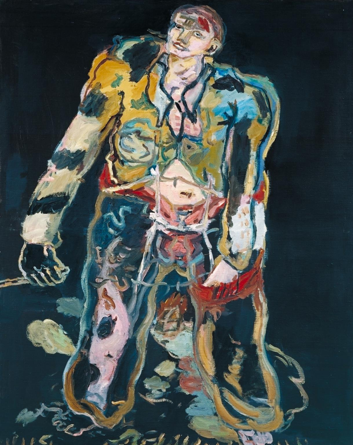 Georg Baselitz. Rebel, 1965