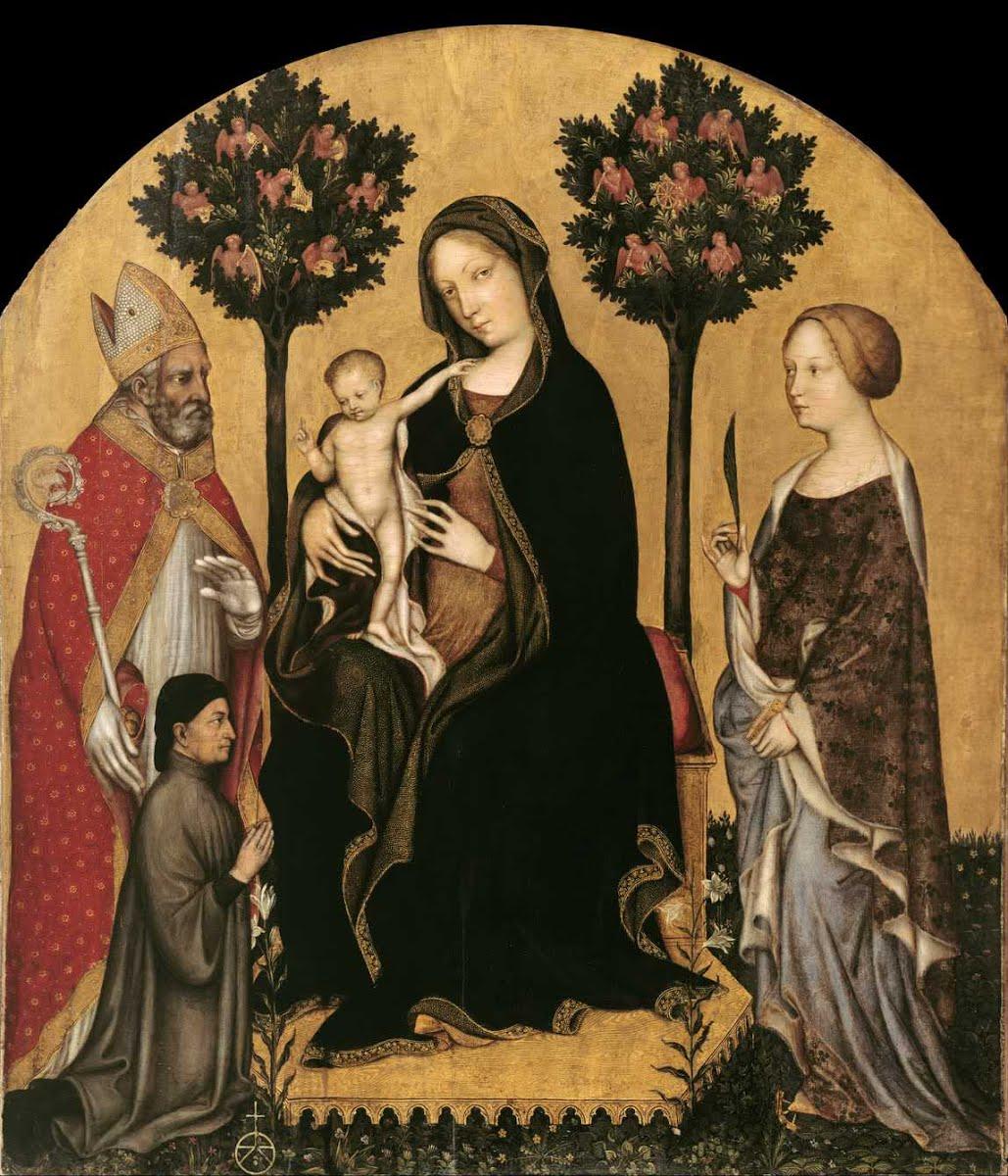 Gentile da Fabriano, Natividad.