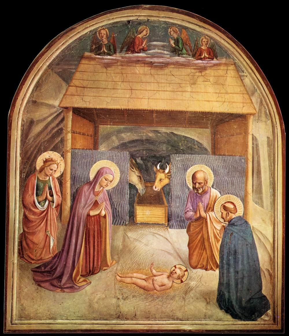 Ghirlandaio, Natividad.