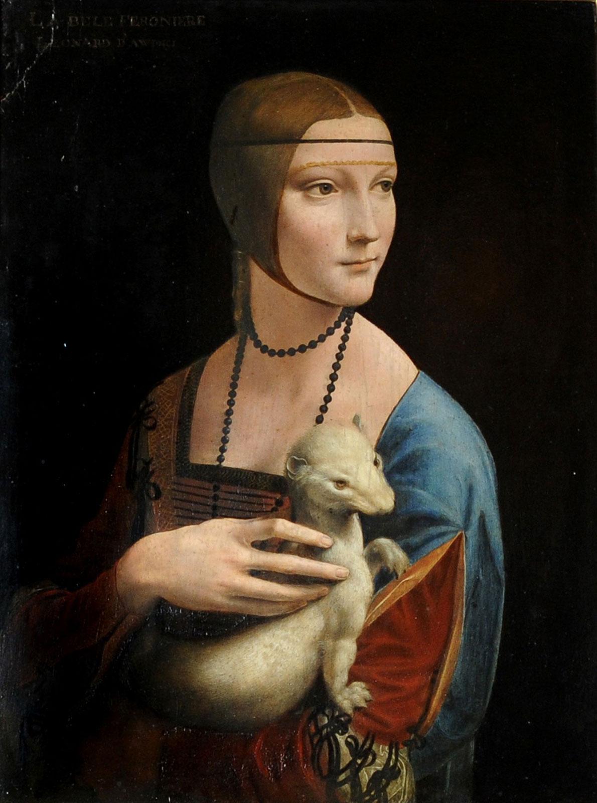 Leonardo da Vinci, La dama del armiño