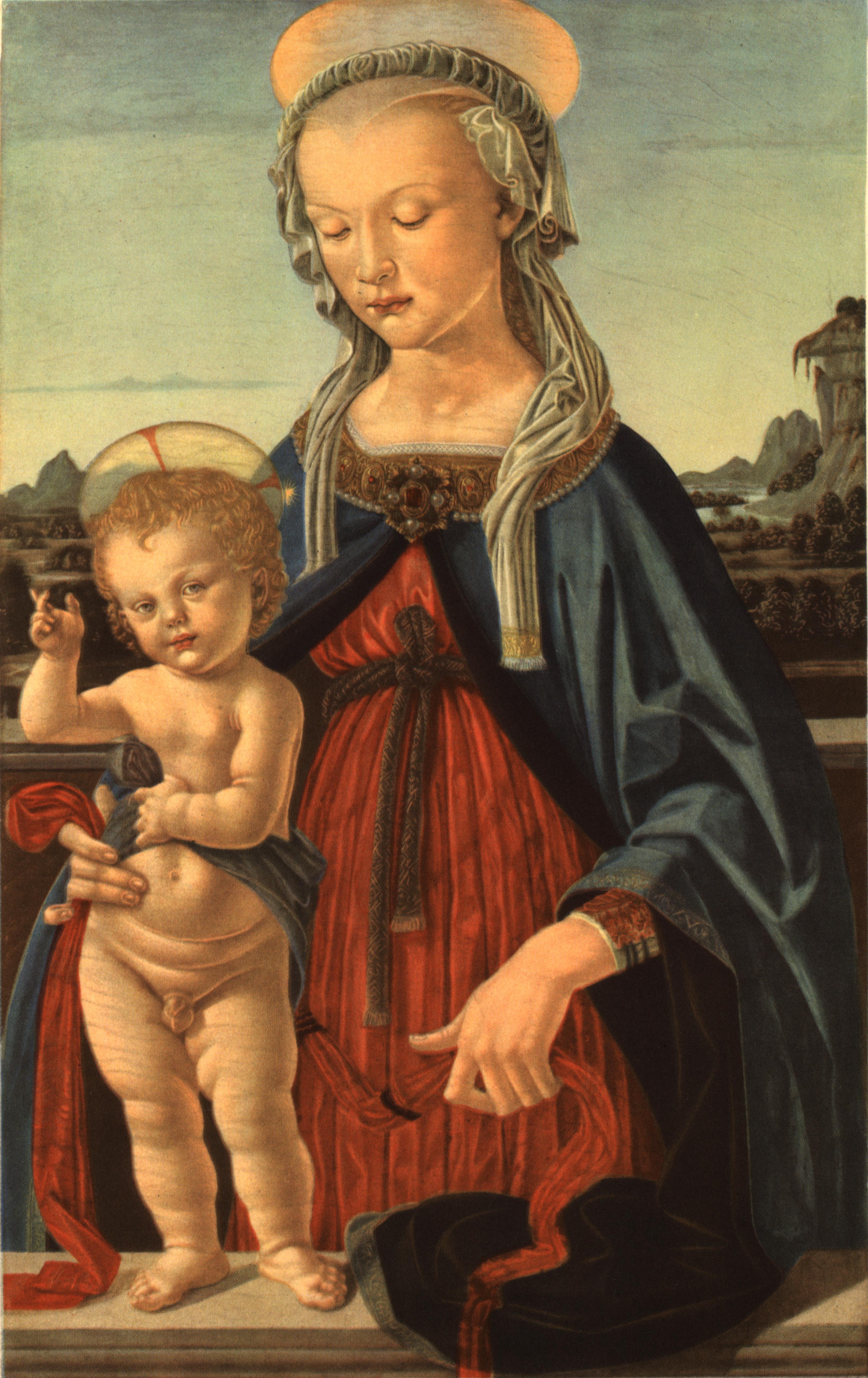 Andrea del Verrocchio, Madonna