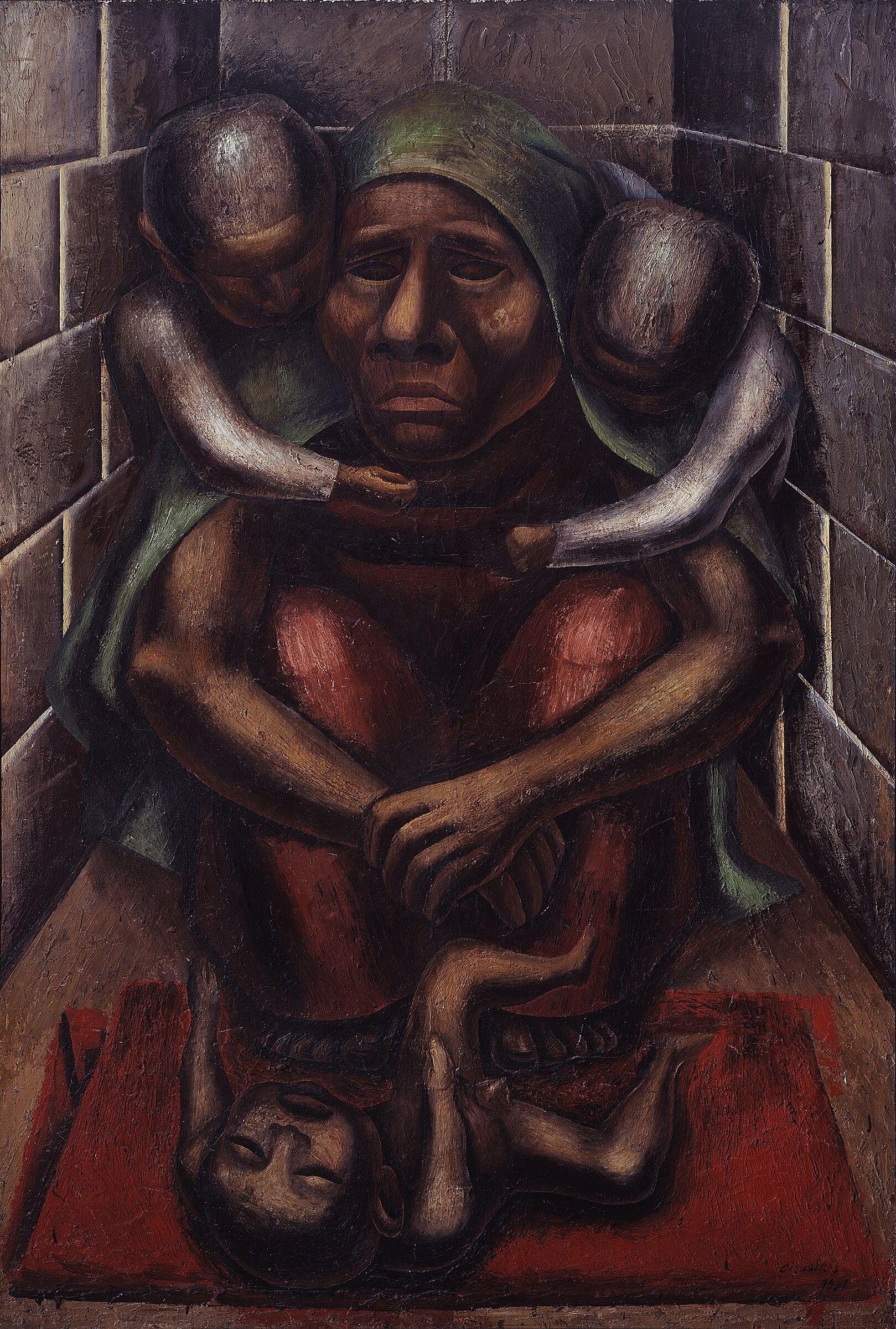 David Alfaro Siqueiros, Proletarian Mother, 1929