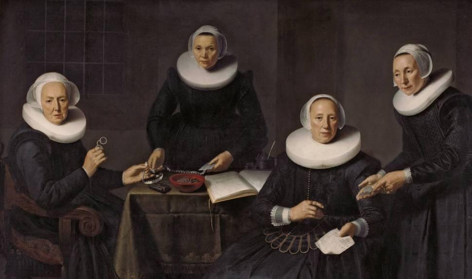 Dirk Santvoor, Gobernantas y celadoras de Spinhuis