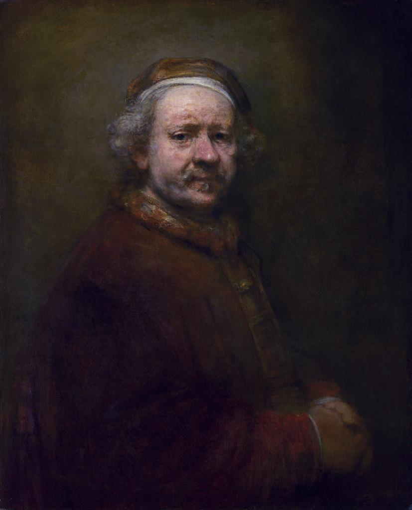 Rembrandt, Autorretrato