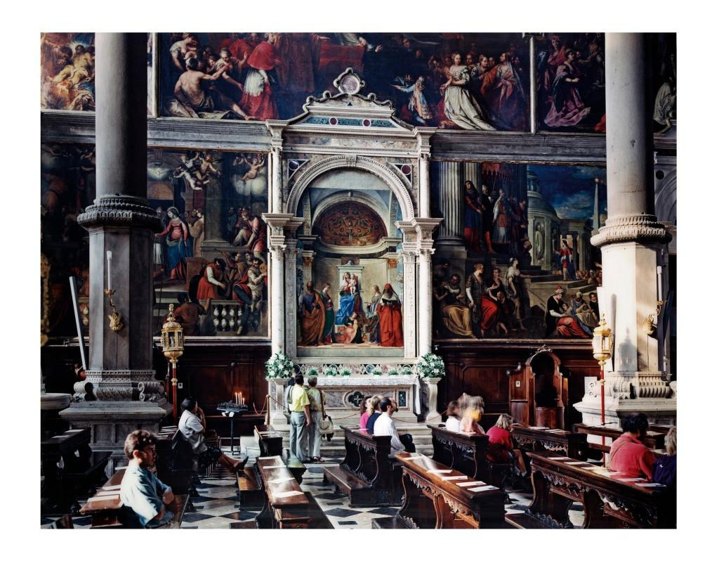 Thomas Struth, San Zaccaria Venezia 1996