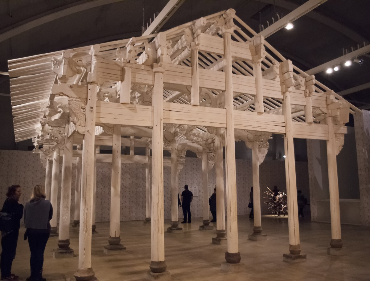 Ai Weiwei. Chinese indoor palace. Museo de arte de Finlandia