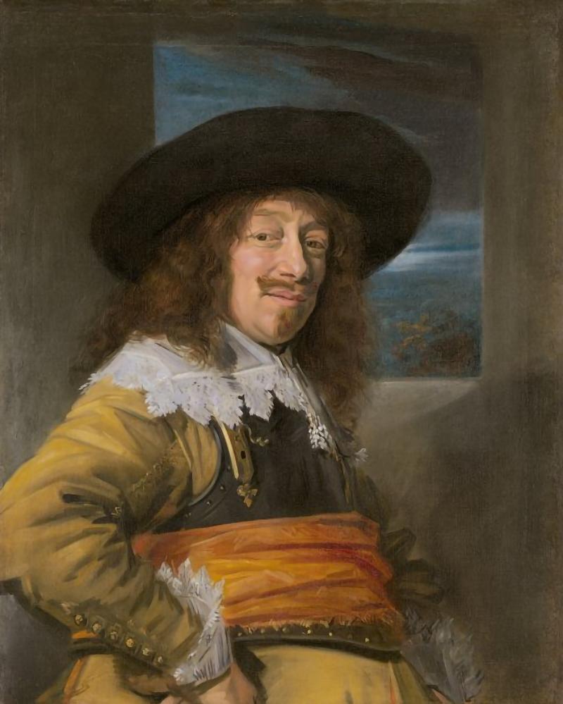 Frans Hals Retrato de un hombre posiblemente Jan Jansz