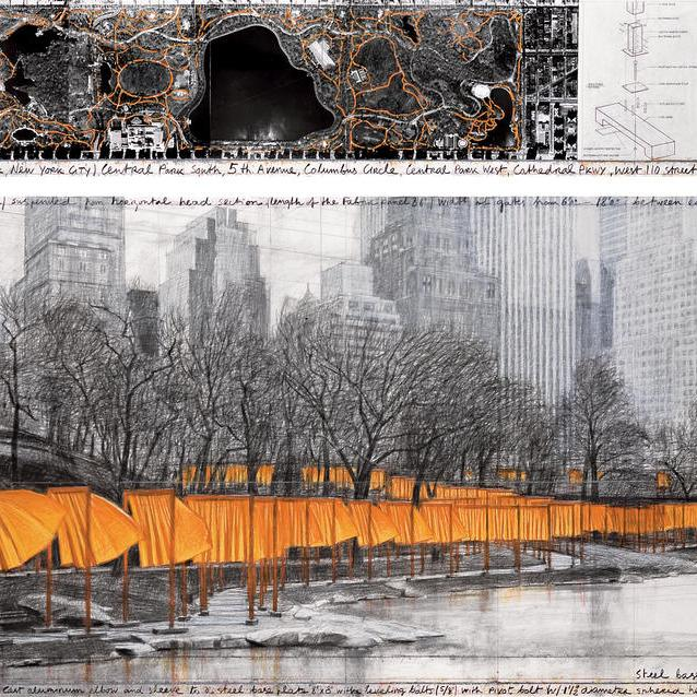 Christo and Jeanne-Claude The Gates, Central Park, New York City, 1979-2005 © 2005 Christo and Jeanne-Claude