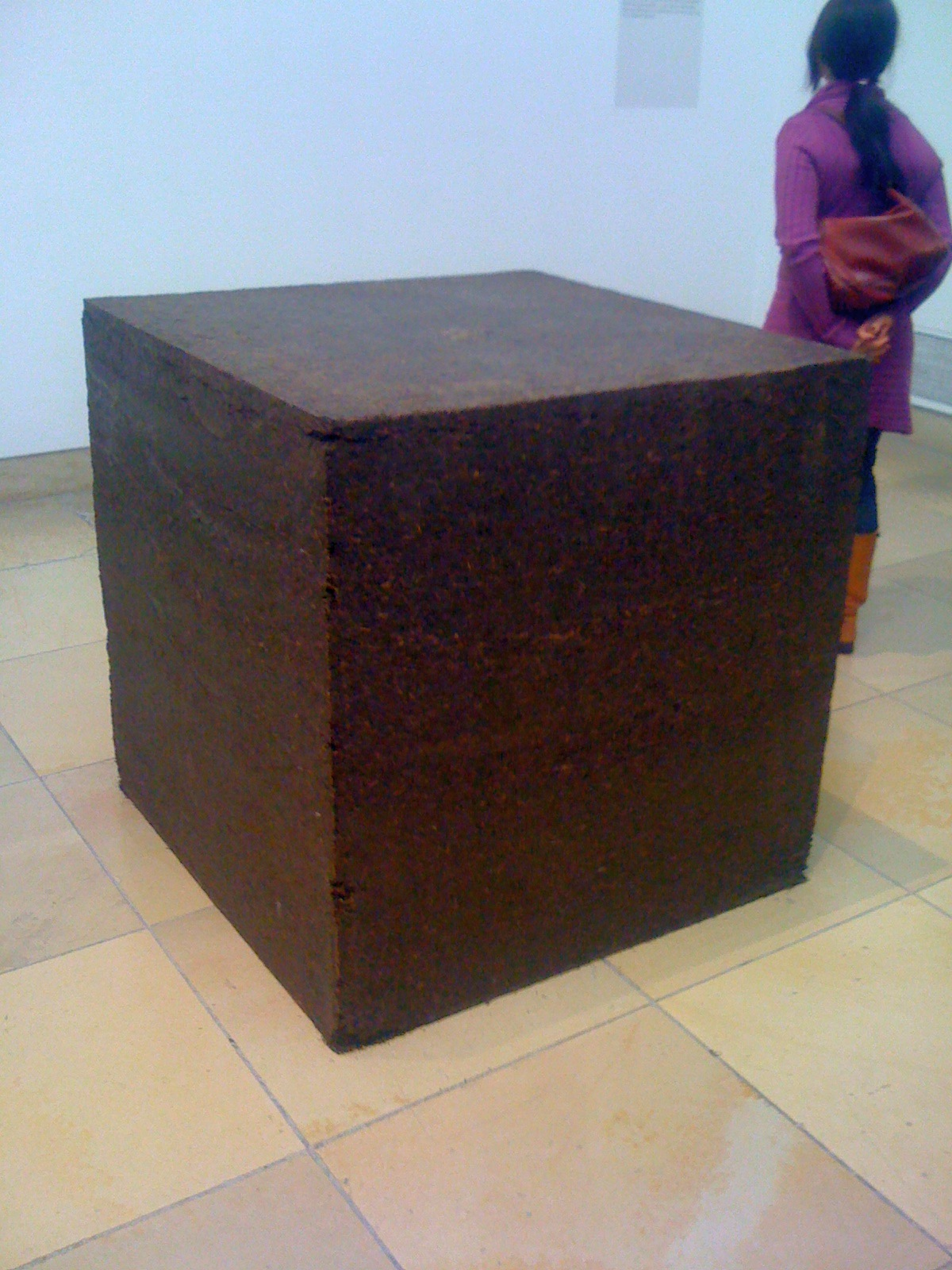 Ai Weiwei. One ton of tea, 2006.