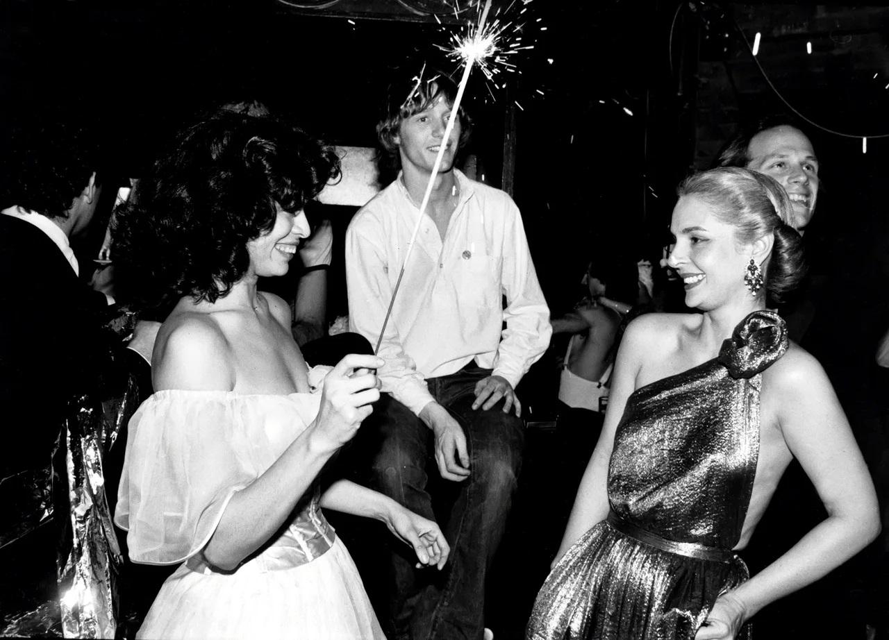 Carolina Herrera con Bianca Jagger