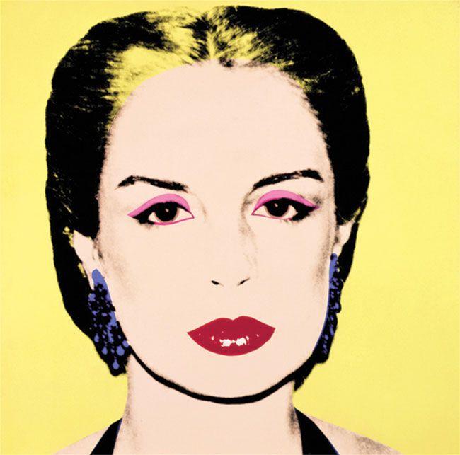 Andy Warhol. Carolina Herrera, 1979. Serigrafía.