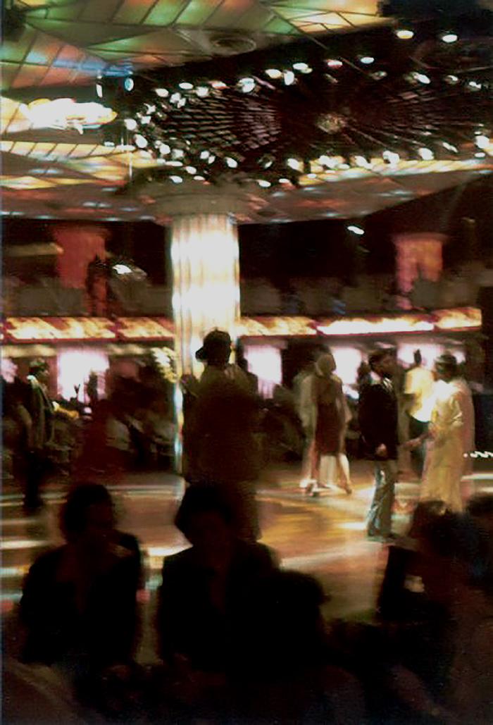 Pista de baile City Hall. Caracas finales de los 70.