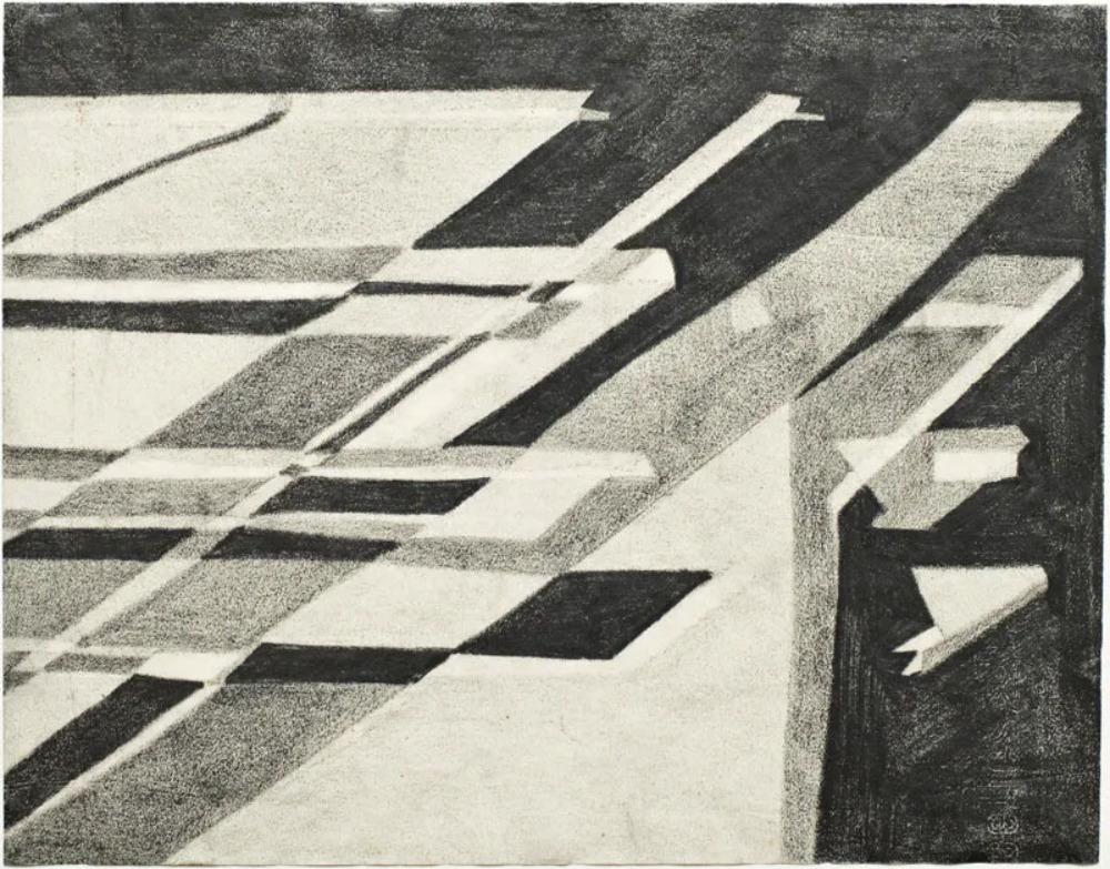 Sem titulo (1952), Lygia Clark. Courtesy Alison Jacques Gallery, London. Copyright O Mundo de Lygia Clark-Associação Cultural, Rio de Janeiro. Photo Michael Brzezinski