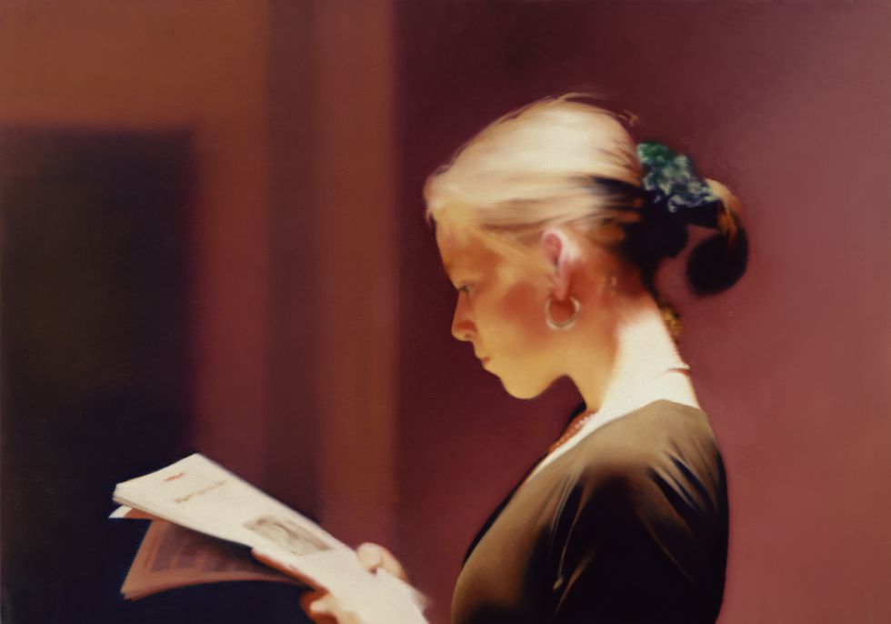 Gerhard Richter. Reader (804), 1994. Colección: San Francisco Museum of Modern Art, USA