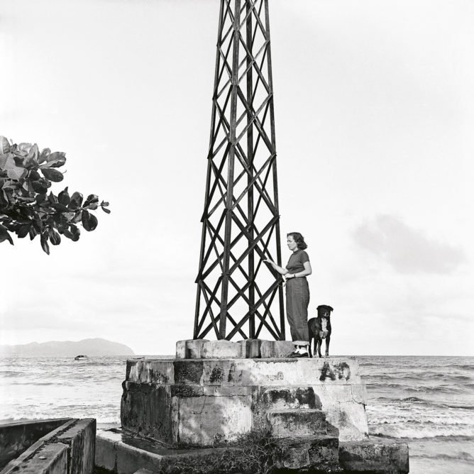 Alfredo Cortina. Higuerote 1955 ©Archivo Fotografía Urbana. Colección del MoMA.