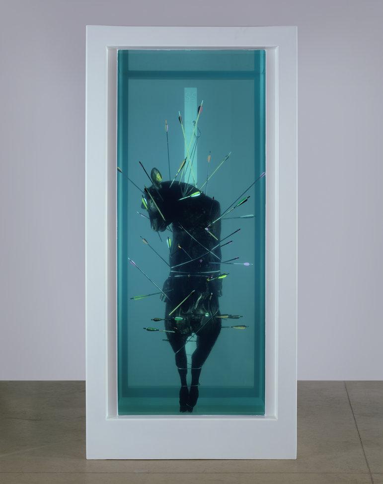 Damien Hirst. Saint Sebastian, Exquisite Pain, 2006.