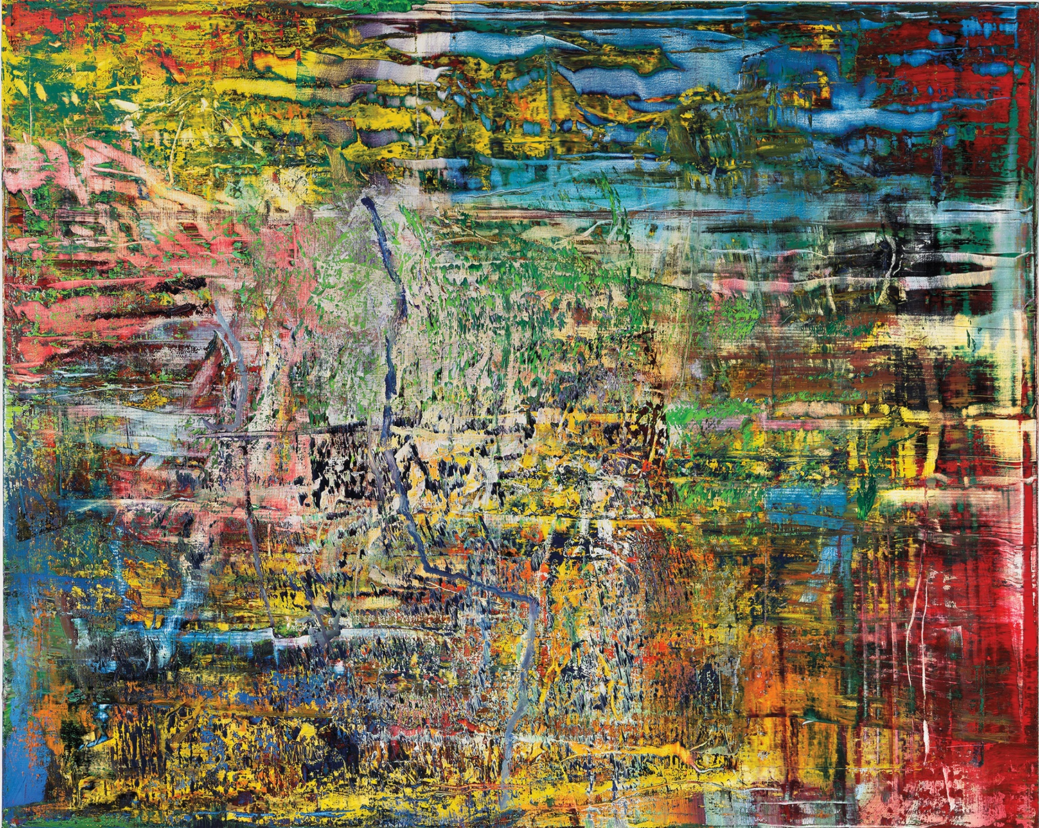 Gerhard Richter Abstract Painting, 016. Photo Gerhard Richter 2019