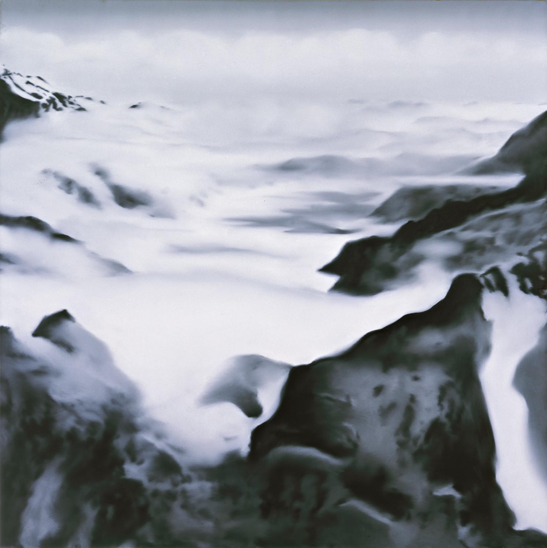 Gerhard Richter Alpen -Stimmung- 1969. Photo Gerhard Richter 2019.