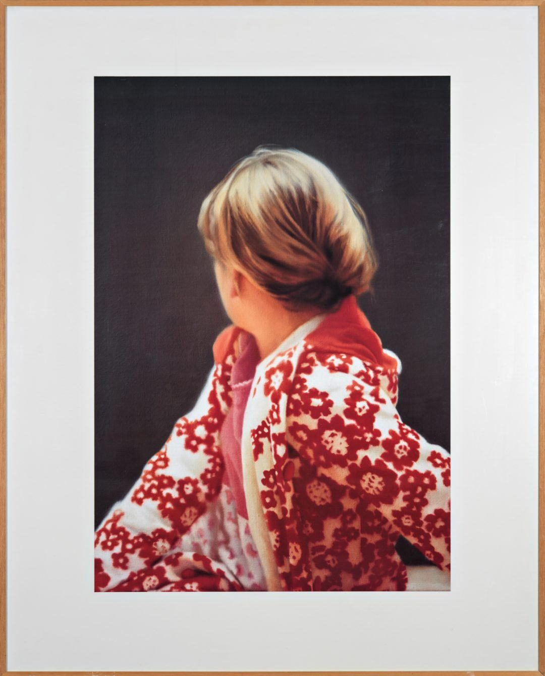 Gerhard Richter Betty 1991. Photo Robert McKeever Cortesía Gagosian Gallery