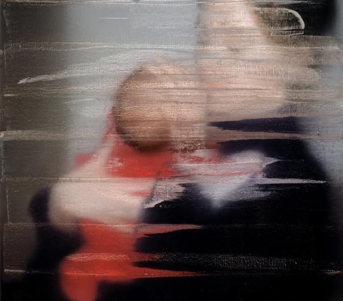 Gerhard Richter. Frau nit kind, 1995.