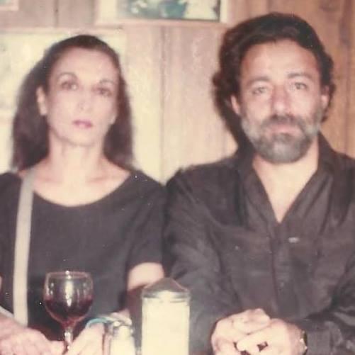 Marisol Escobar y Rolando Peña, en el 11 Cafe, East Village, N.Y.C. 1980, Foto Mimí Trujillo.