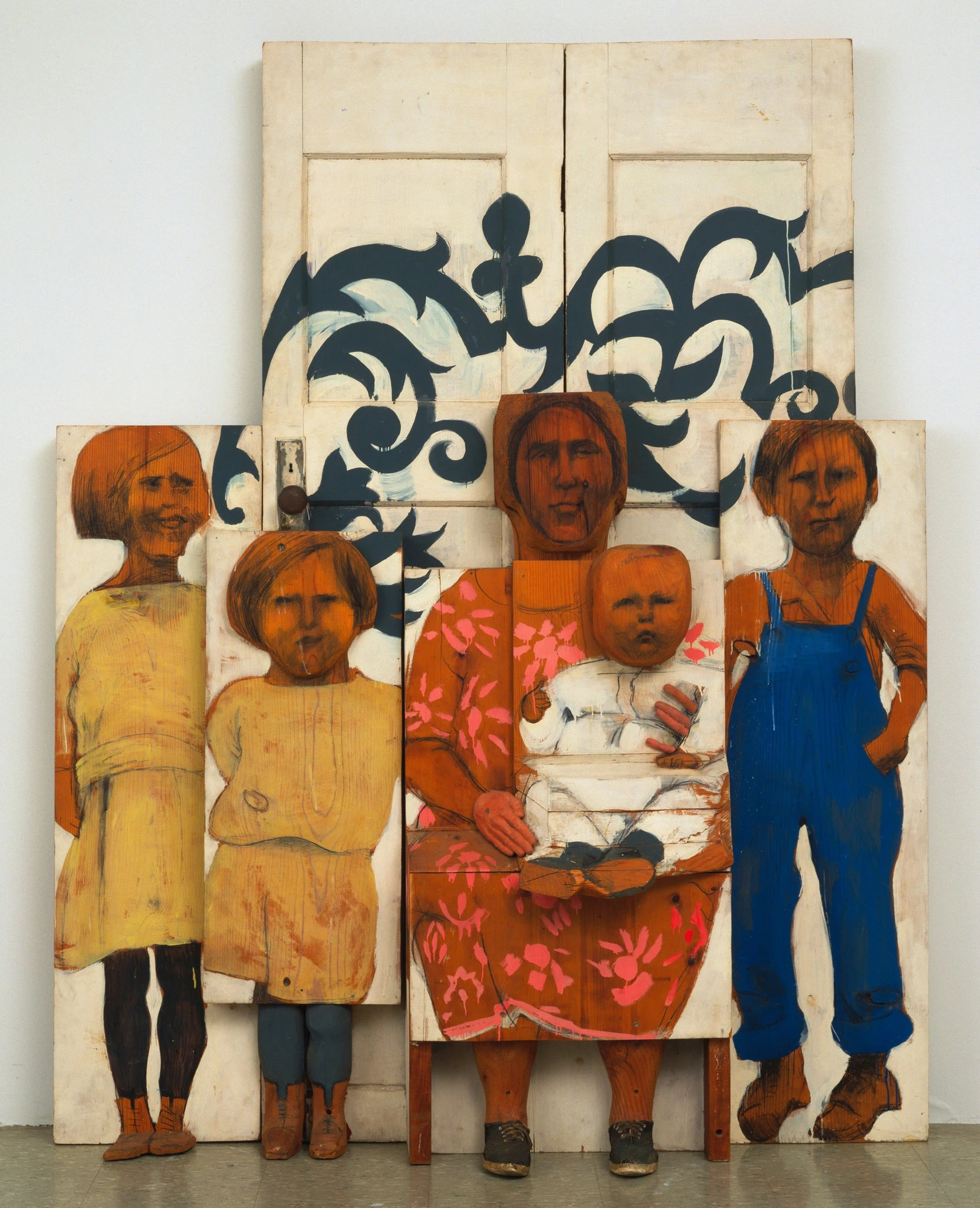 The Family 1962. Estate of Marisol Escobar