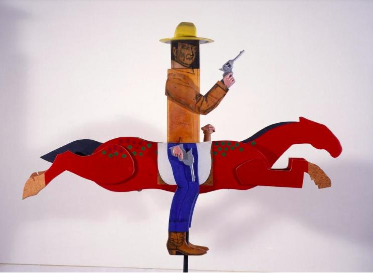 Marisol. John Wayne 1963