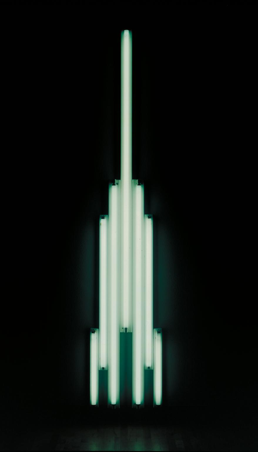 Dan Flavin 'Monument' for V. Tatlin 1966-9