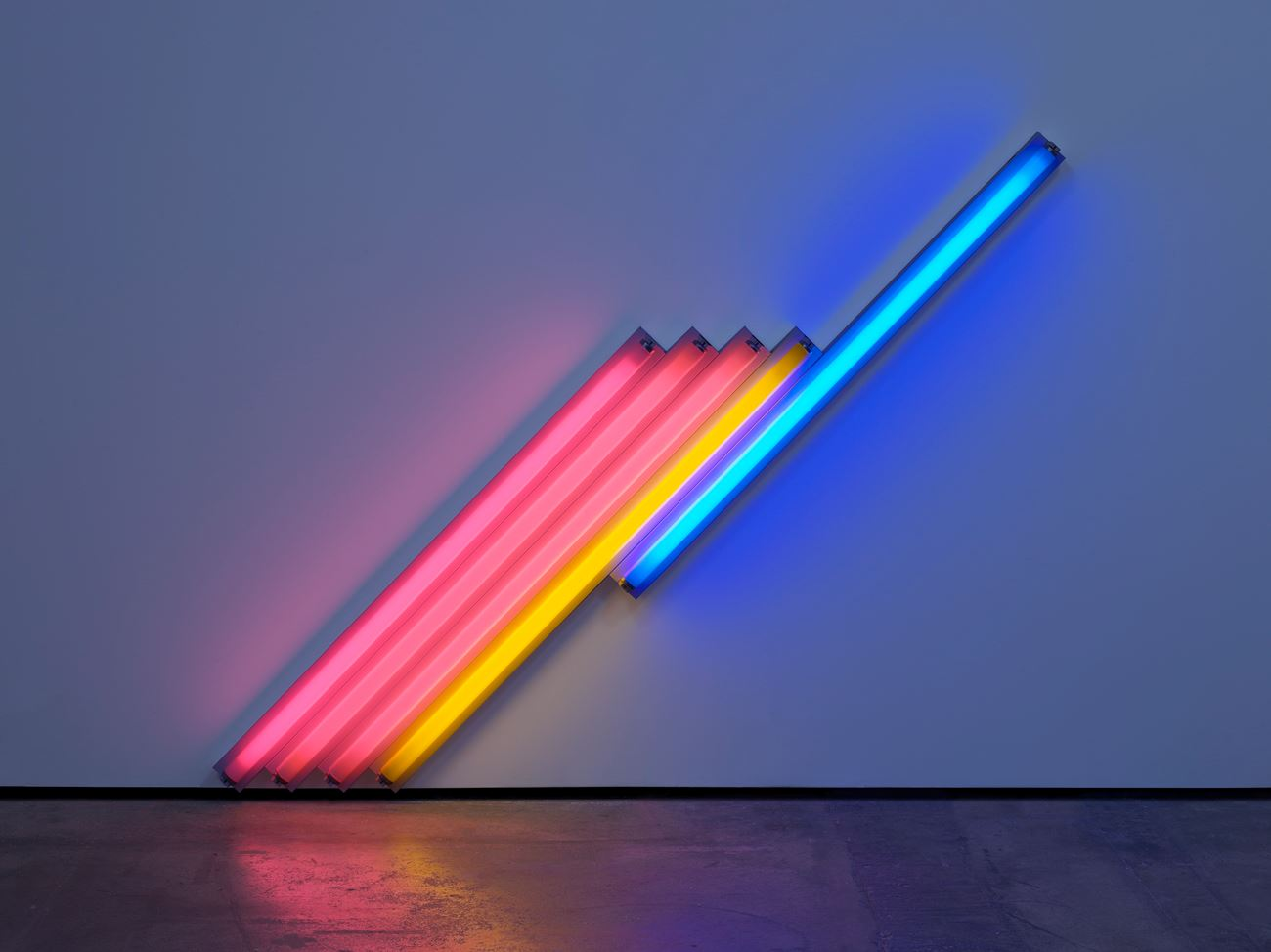 Dan Flavin Untitled (for Federika and Ian) 1984