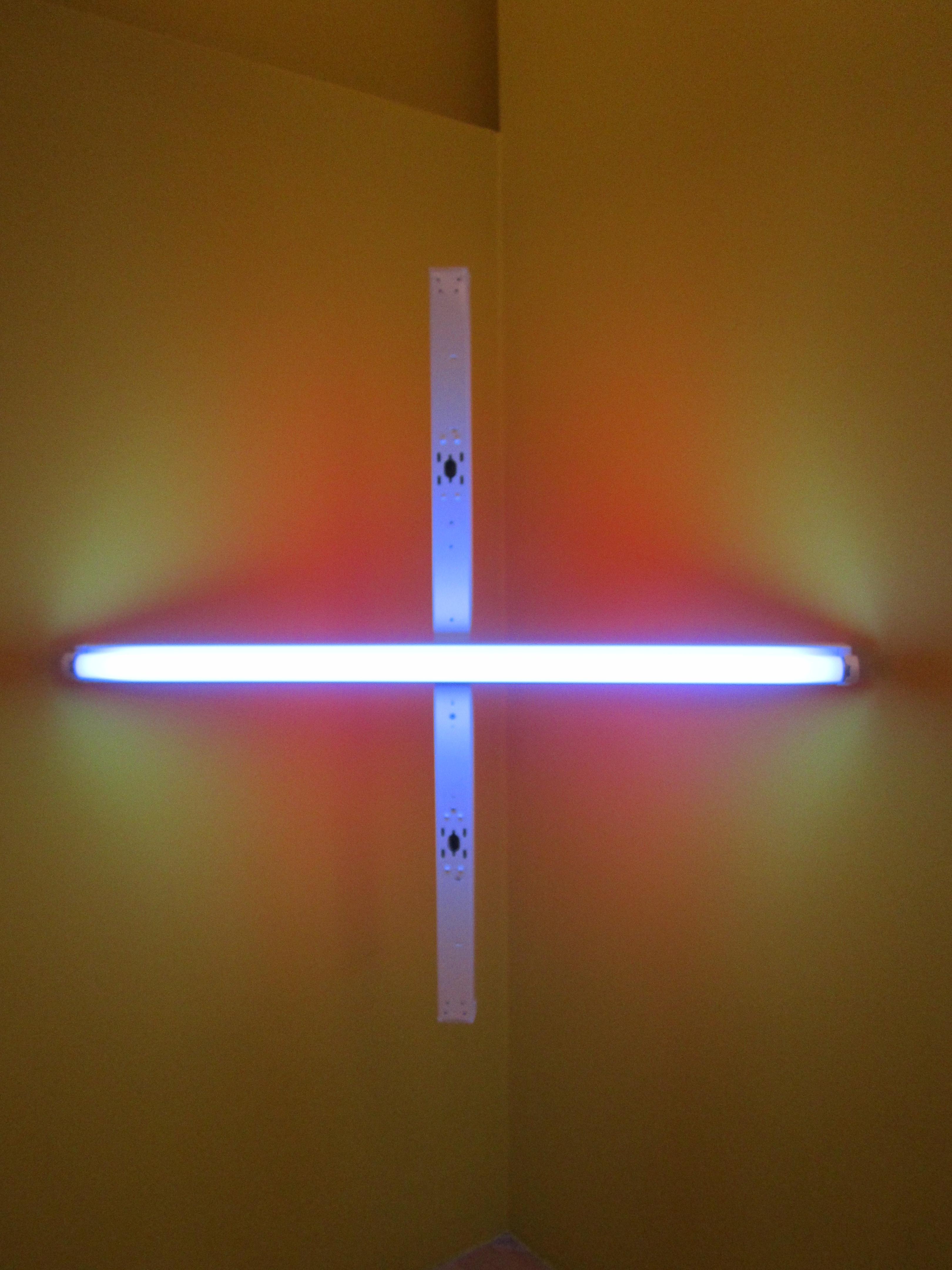 Dan Flavin Unititled (Corner Piece) by Dan Flavin, Tate Liverpool