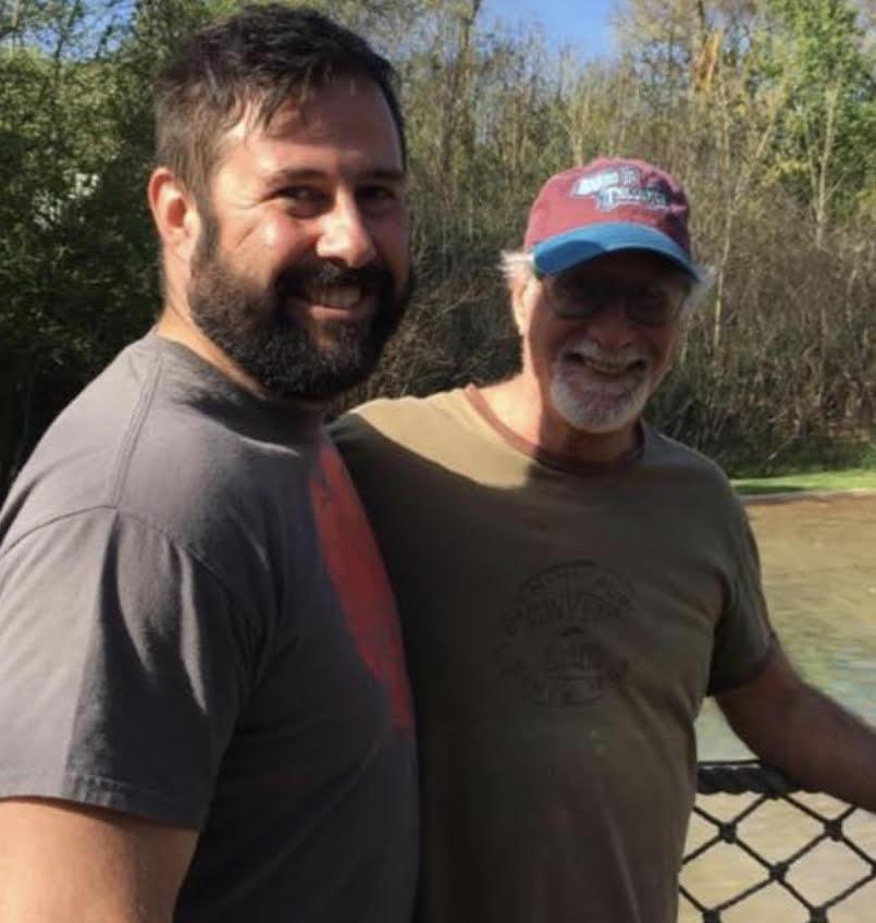 Ricardo Benaim y su hijo Daniel.
