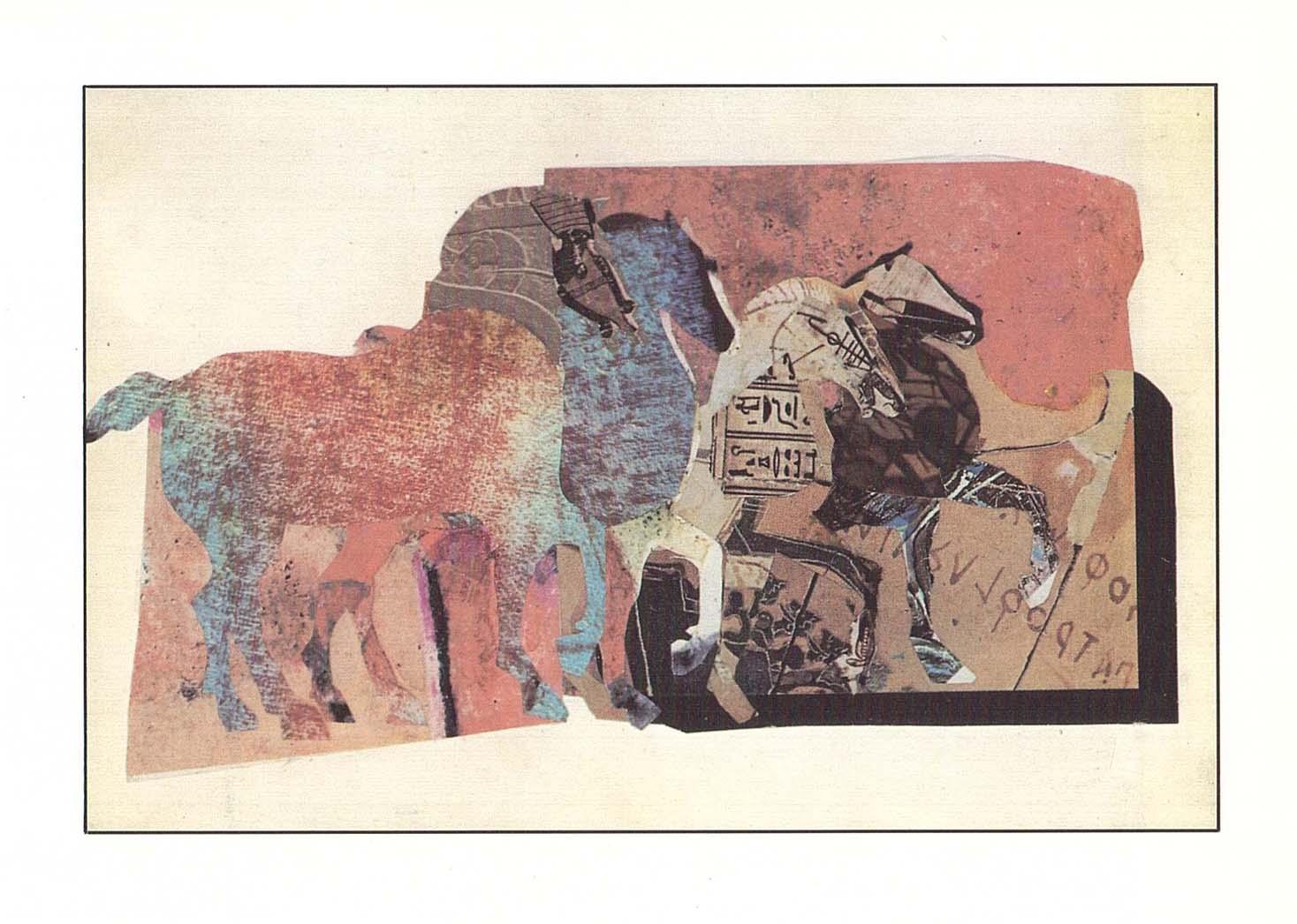Mercedes Pardo. Caballos de San Marco, 1982
