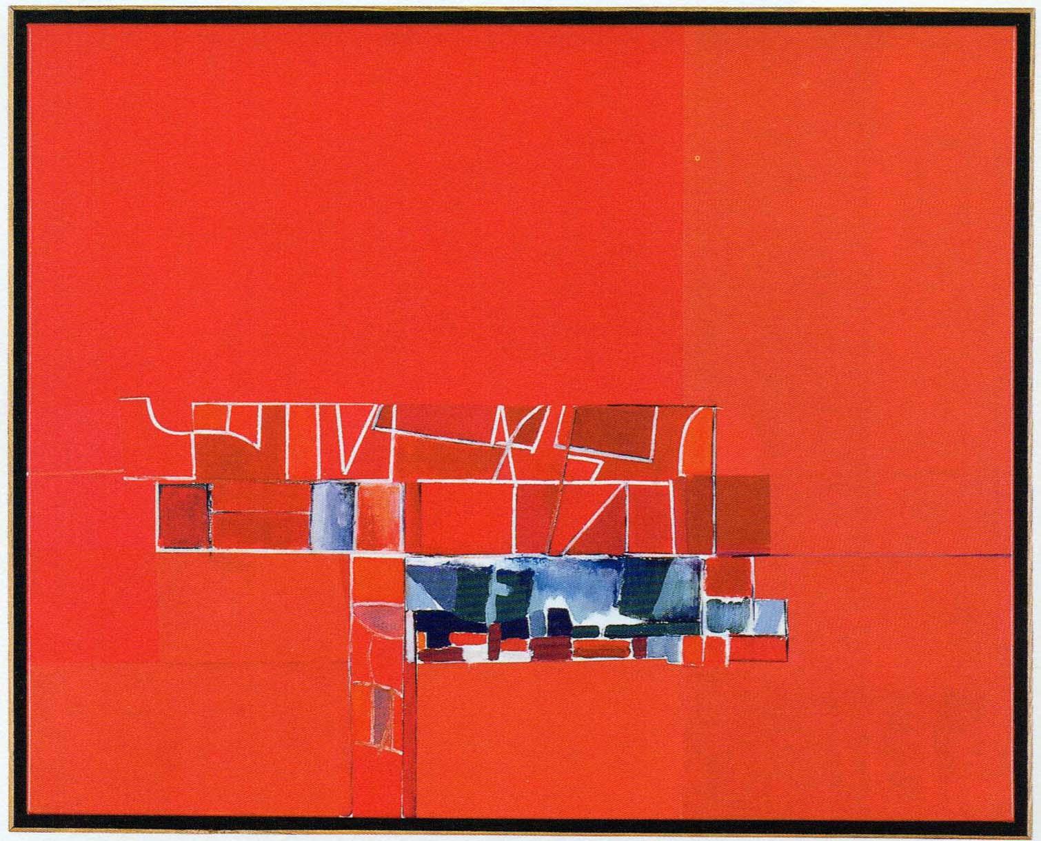 Mercedes Pardo Los techos rojos 2000