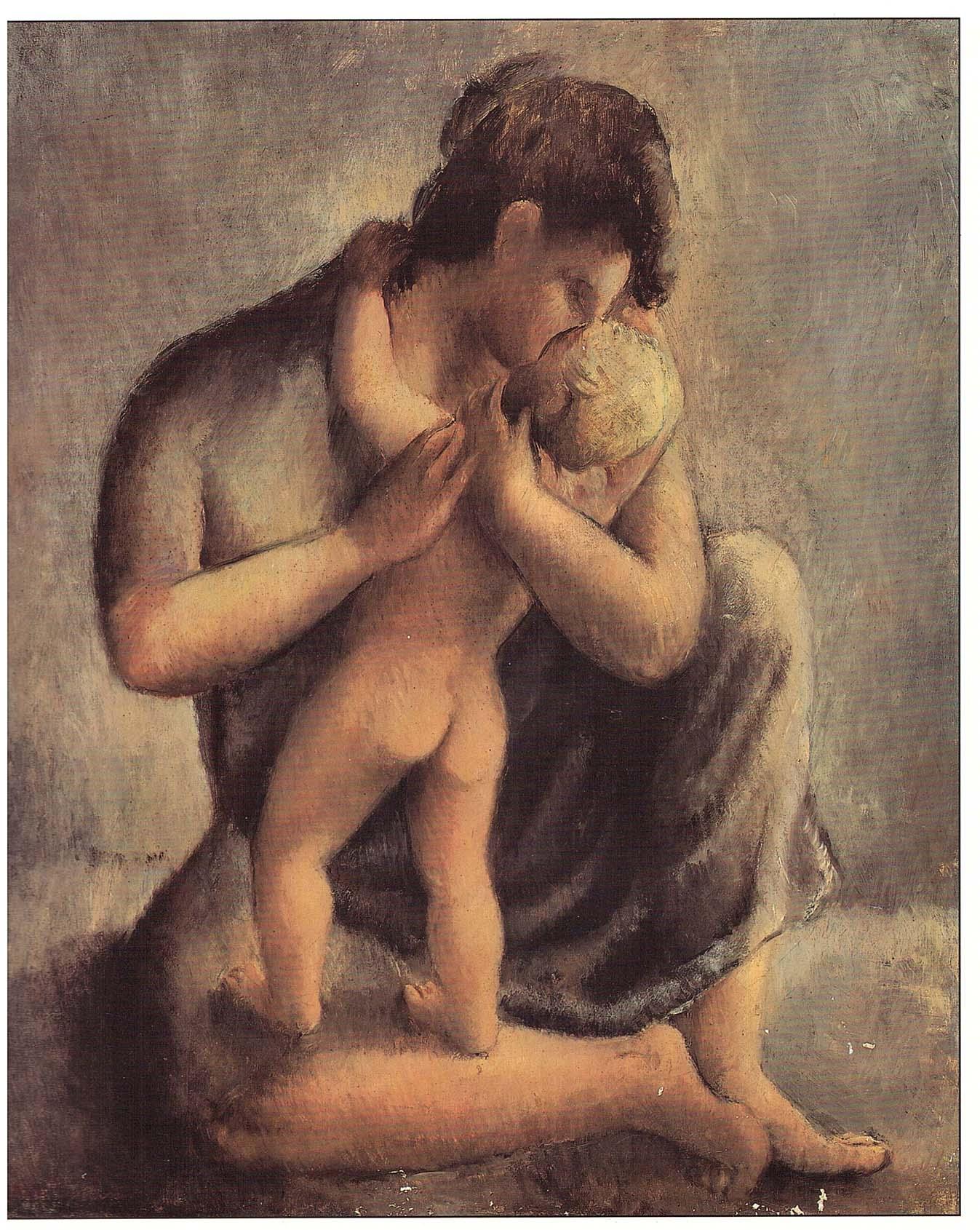 Mercedes Pardo Maternidad 1942