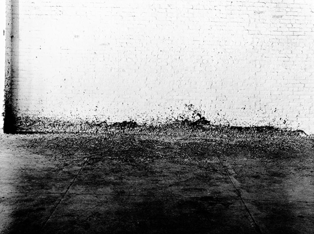 7. 7- Splash/ Cast. Salpicaduras de plomo. A veces el resultado de estás salpicaduras era arrancado y expuesto junto a la pared: Cast. Molde
