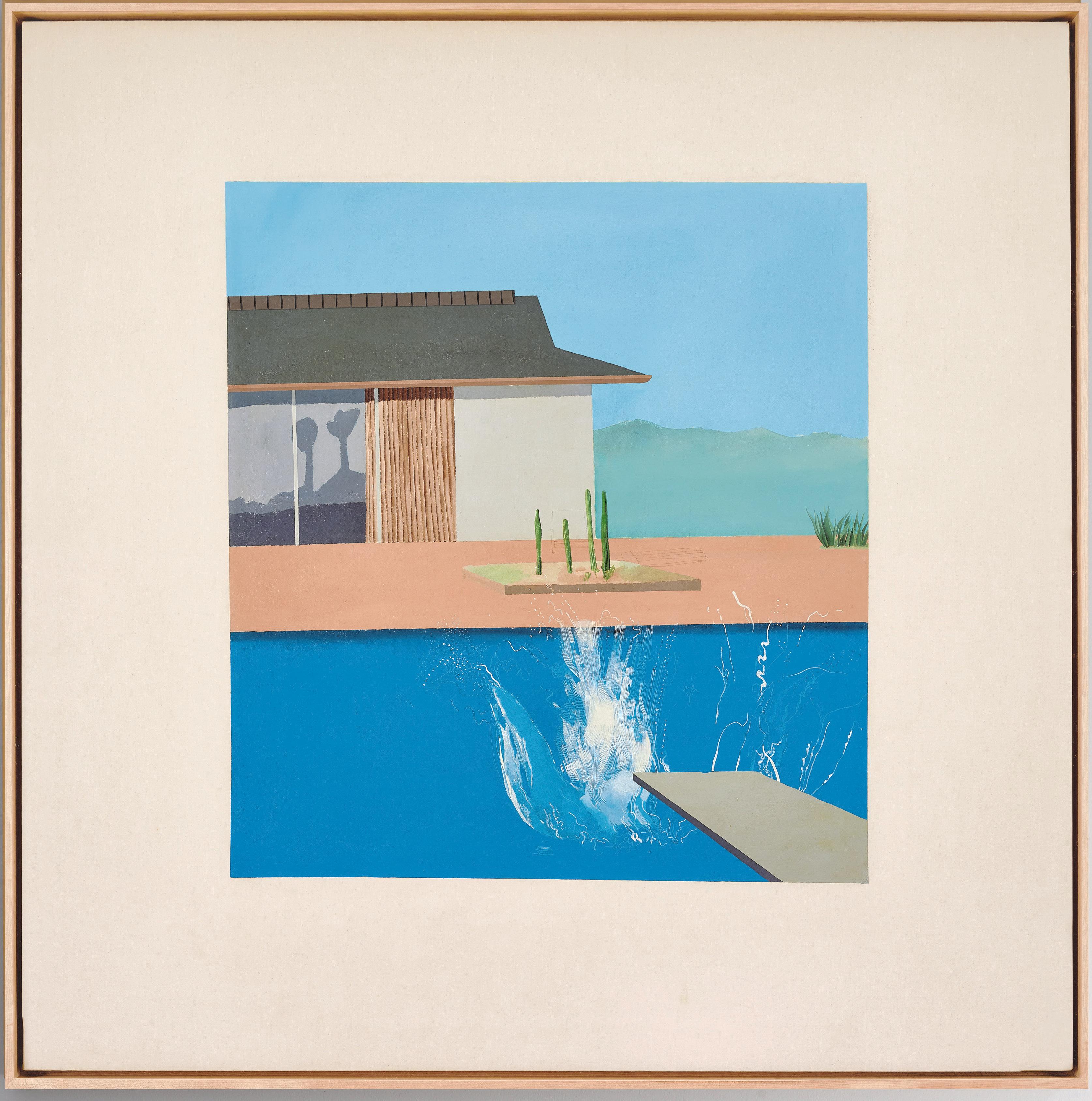 David Hockney. A Bigger Splash 1967