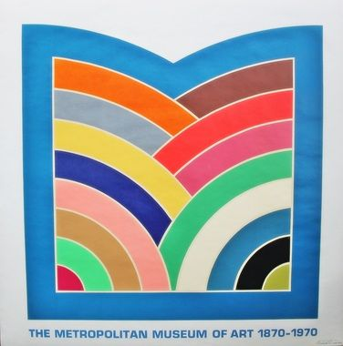 Frank Stella. Logo del Met Museum.