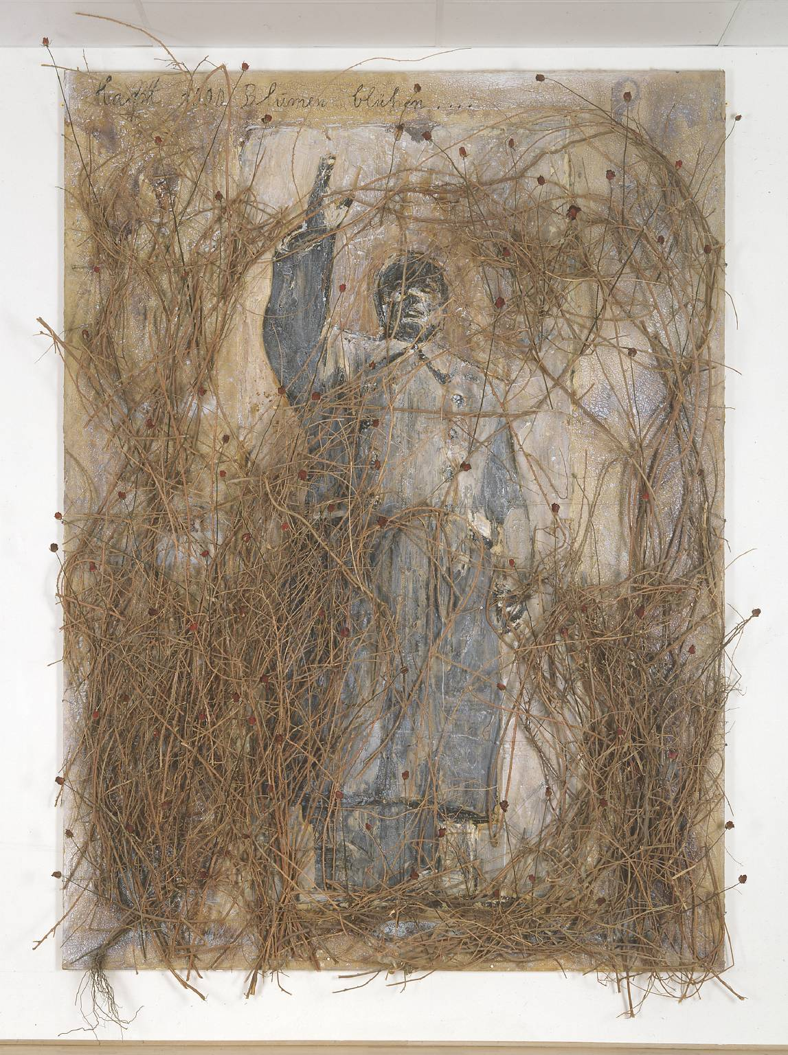 Anselm Kiefer. Let a Thousand Flowers Bloom 2000. Cortesía Tate Gallery.