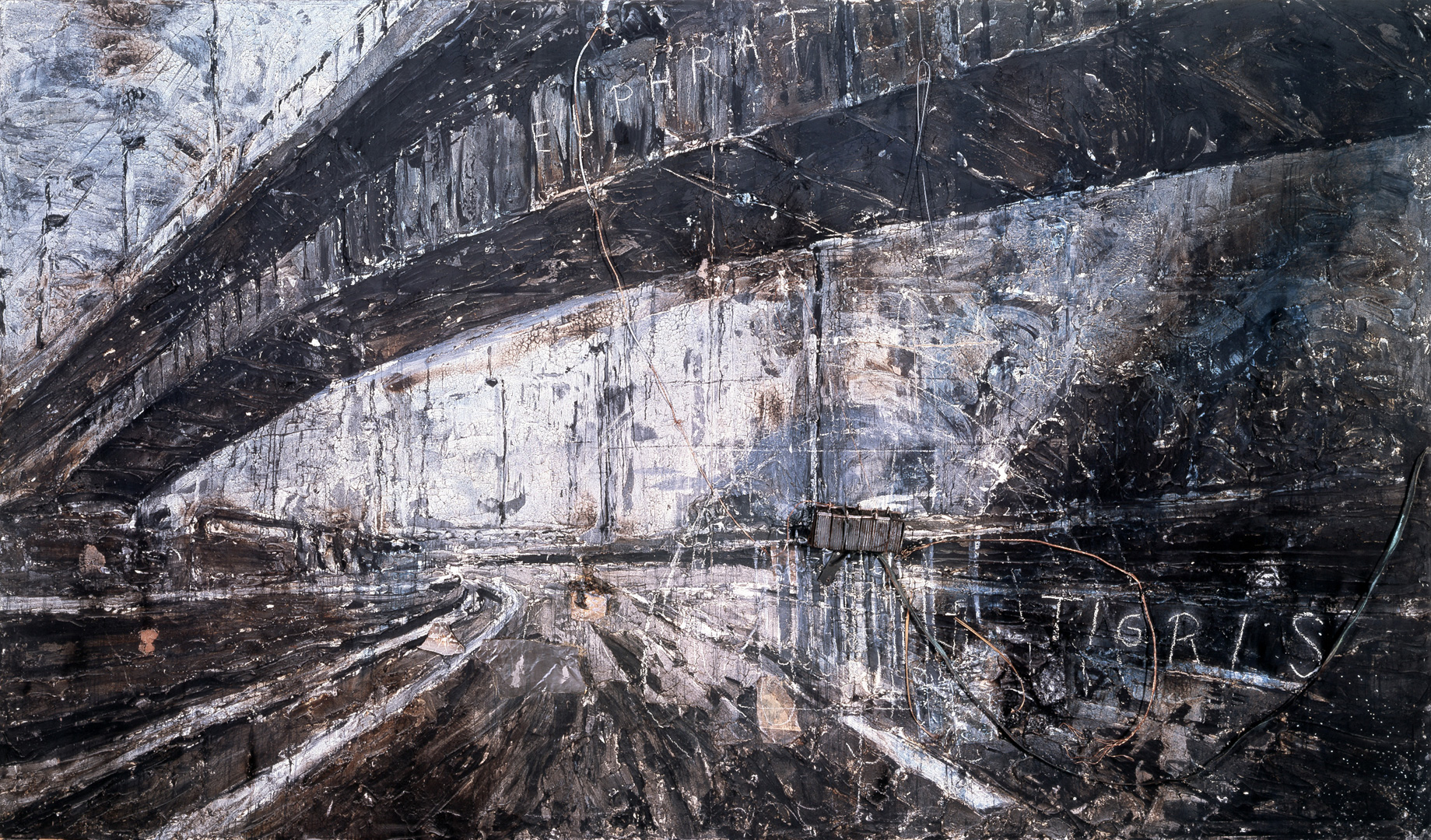 Anselm Kiefer. The high priestess.1985-87.