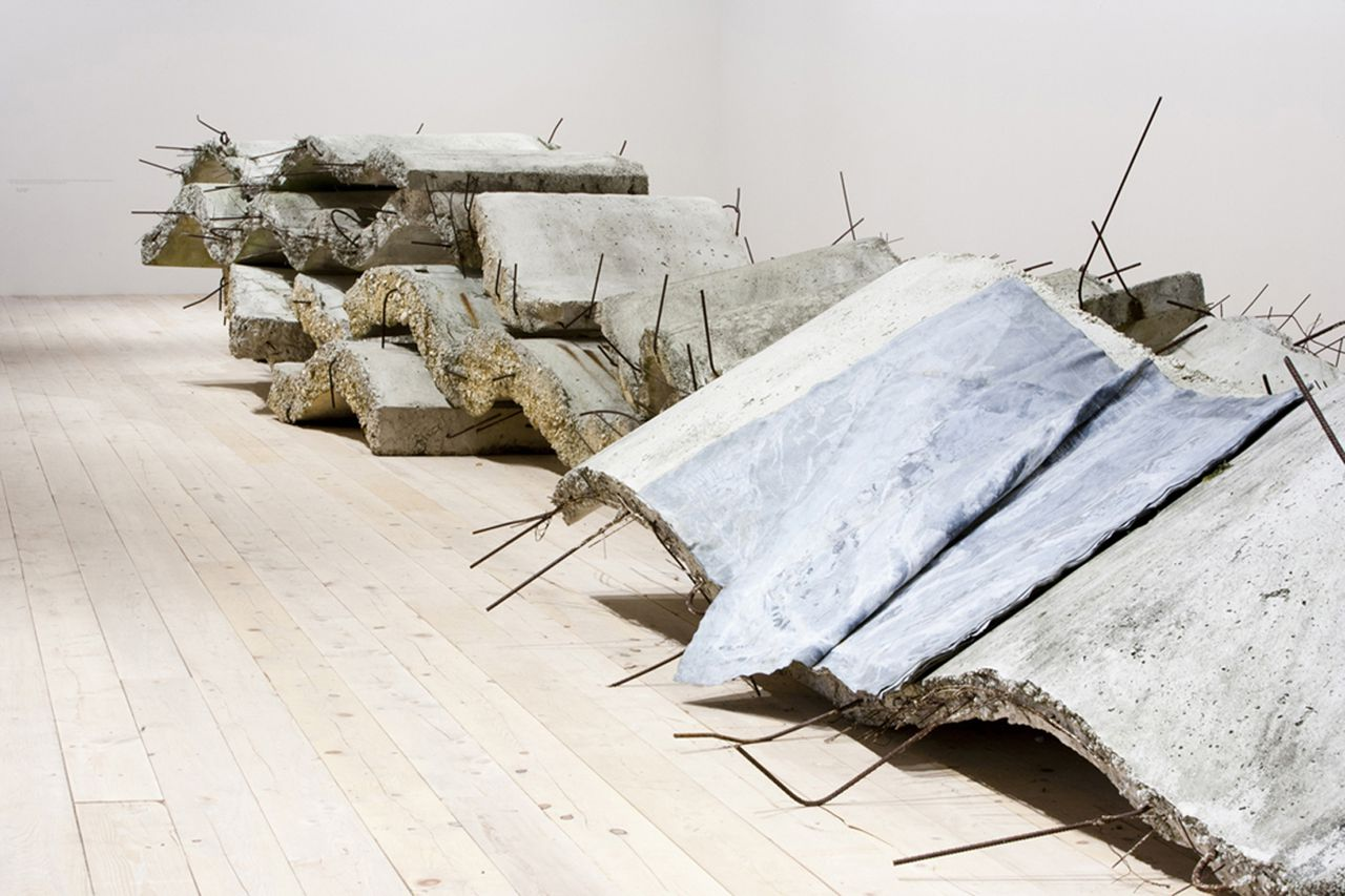 Detalle de la escultura de Kiefer, Narrow Are the Vessels. Foto Elizabeth Solaka-Anselm Kiefer